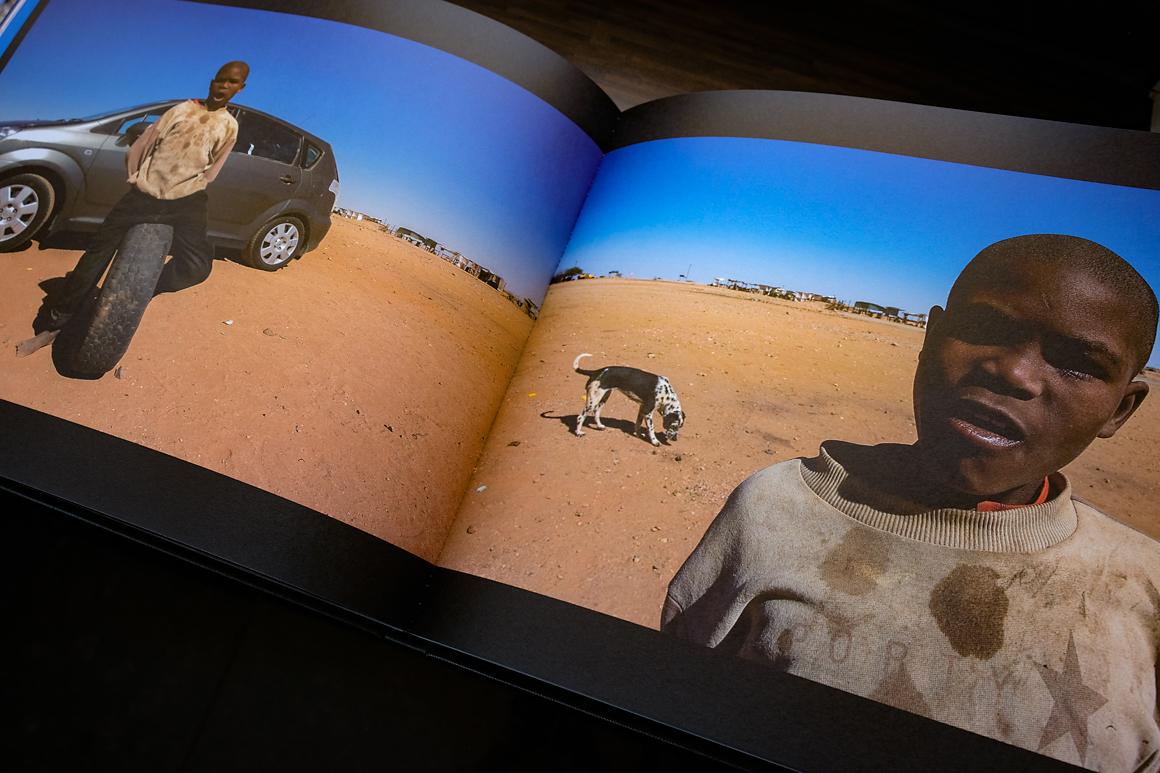 Foto des Namibia Buches